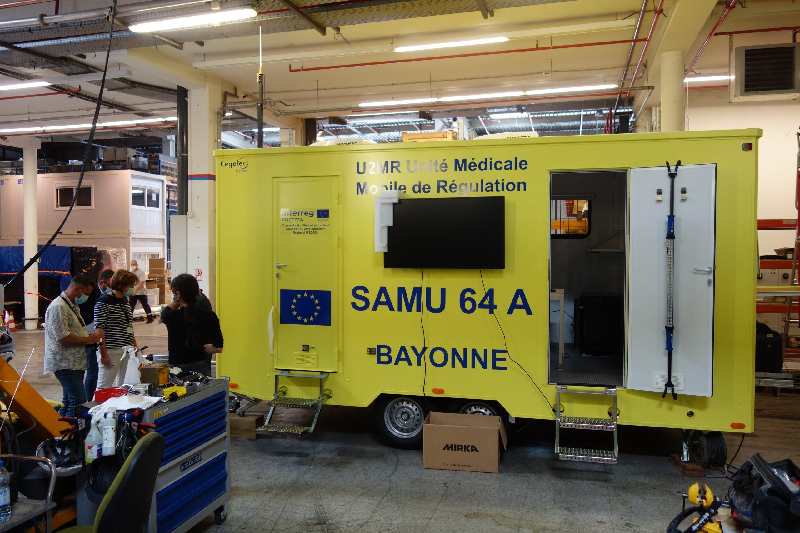 Une Unité Mobile de Régulation Médicale permettra de déplacer sur le terrain la coordination sanitaire des urgences et des catastrophes